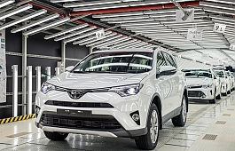 Toyota начала сборку RAV4 в Санкт-Петербурге