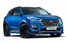 Hyundai представила Tucson Sport с форсированными моторами