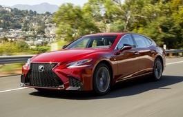 Объявлены российские цены Lexus LS нового поколения